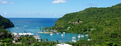 Transfer from St Lucia Airport to Marigot Bay