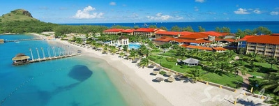 Transfer From St Lucia Airport to Sandals Halcyon