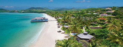 Transfer From St Lucia Airport to Sandals Grande
